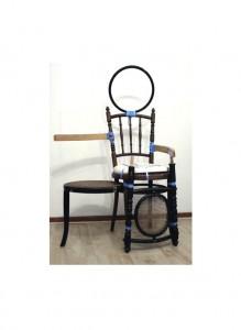 Proef samengestelde stoelen